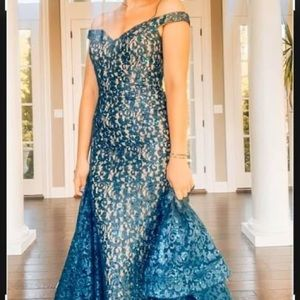 Formal Gown Teal